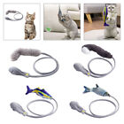 Moving Fish Cat Toys Catnip 3D Simulation Dancing Fish Interactive Wand Toy