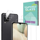 Tempered Glass Screen Protector+Camera Lens For Samsung Galaxy A12 A32 A52 5G