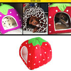 Cat Bed Indoor Pet Tent Warm Soft Cushion Cozy House Year Round