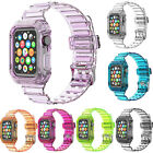 TPU Band Strap For Apple Watch Series 6/5/4/3/2/1 Bumper Sport iwatch 40mm/44mm