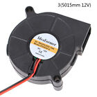 4020/5015 Blower Cooling Fan 12V/24V 2Pin XH2.54 Terminal Cable For 3D Printe J/