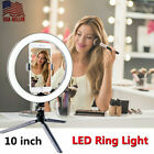 """10"""" LED Selfie Ring Light with Tripod Stand Phone Holder For Youtube Live Stream"""