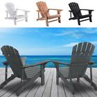 Adirondack Chairs Chair Wood Outdoor Patio Furniture Lounge Poly Us Seat Garden