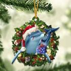 Dolphin and Christmas gift for her gift for him gift for Dolphin lover ornament
