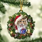 Norwegian Forest cat and Christmas gift for her gift for him gift for Norwegian