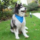 Lovely Dog Scarf Cat Dogs Saliva Towel For Small Medium Dog Cat Blue-S