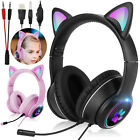 Stereo Bass Surround LED Gaming Headset Noise Reduction Mic Headphone for PS4/PC