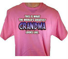 This Is What Worlds Greatest Grandma Looks Like T-Shirt