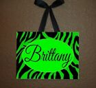 Zebra Print Name Plaque / Sign