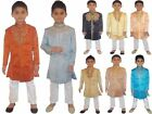 Asian Indian Wedding Eid Boys Sherwani & Pyjama yr1-12