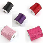 Whoelsale 20M Waxed Nylon Thread Cords For Jewelry DIY Colors Craft Making 2mm
