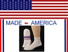 Big And Tall Men King size diabetic extra large white Cotton Low Cut ankle socks