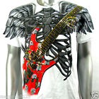 Artful Couture T-Shirt Tattoo Guitar AW16 Sz M L XL XXL Vtg Rock Streetwear Punk
