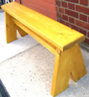 Chunky Rustic Wooden garden bench bespoke furniture,Style number 3-