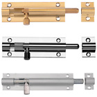 Straight Security Barrel Sliding Shoot Door Bolts Gate Bathroom Surface Bolt