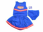 BOISE STATE BRONCOS 3-PIECE TODDLER CHEERLEADER OUTFIT NEW
