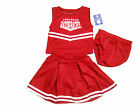 ARKANSAS RAZORBACKS 3-PIECE TODDLER CHEERLEADER OUTFIT NEW