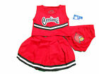 LOUISVILLE CARDINALS 3-PIECE TODDLER CHEERLEADER OUTFIT NEW