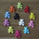 7 - Novelty Buttons - Teddy Bear - Baby - Kids - Knitting - Sewing - Cardmaking