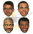 JLS Card Masks ALL IN ONE PACK xFactor Boy Band Aston Marvin Oritse Jonathan
