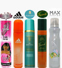 Ladies Perfumed Body Spray Tweed Worth Adidas Max Factor or Cheeky Girls CHOOSE