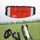 1.8m Dual Line Stunt Parachute Parafoil Outdoor Sport Kites Fly Tool  Kid's Toy