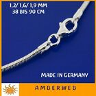 Silberkette Schlangenkette Silber 925 Juwelierqualität Made in Germany TOP!