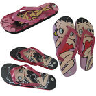 NEW LADIES OLDER GIRLS DISNEY BETTY BOOP CHARACTER PINK LILAC SANDALS SIZE 2-5
