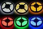 5M 300 LED 3528 SMD Strip Waterproof Cool/Warm White Amber Red Green Blue Light