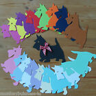 Animal Die Cuts - Scottie Dog - Topper - Tags - Kids - Scrapbooking/Cards