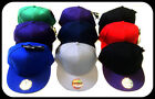 NEW FLAT PEAK Baseball Quality Authentic **CAP HAT** - Choose Colour & Size!!