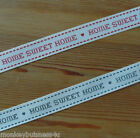 Berisfords Ribbon - Home Sweet Home - 15mm - Ribbon Crafts - New Home - Cards