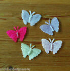 Organza Butterfly with Beads- Applique - Topper - Wedding - Favour - Sewing