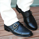 BELIVUS Modern Effect Buffalo leather Casual HANDMADE Men's shoes/BS059/Blacks