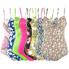 LT071 Women's cute One Piece Swimsuit Beachwear Swimwear many colors 8 10 12 14