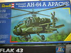 Revell US Army McDonnell Douglas AH-64A APACHE Combat Helo-1/72 Scale-FREE SHIP