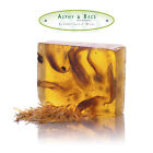 Patchouli & Amber Natural Glycerine Soap Bar - 100gr. With Calendula Flowers