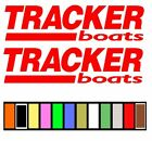 TRACKER BOATS STICKER DECAL FISHING * ANY COLOR OR SIZE AVAI