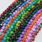 30 pcs 8mm Loose Round Chic Glass Spacer Beads Pick 14 Color -1 Or Mixed DIY G02