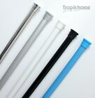 Quality Extendable Spring Shower Curtain Rod Rail - Different Sizes And Colours