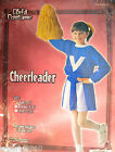 CHEERLEADER Red or Blue HALLOWEEN COSTUME SET (2pc) ~ Party Supplies Girl Child