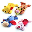 1x Winnie the Pooh Tiger Eeyore Piglet Plush Type Pencil Case Pen Stationary Bag