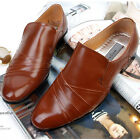 New Novamall Handmade Mens Brown Leather Dress Loafers Mens Shoes