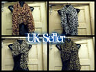 WHITE, BROWN CELEBRITY DESIGNER ANIMAL LEOPARD PRINT CHIFFON LADIES SCARF SHAWL
