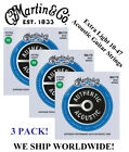 **3 SETS - MARTIN MA170 ACOUSTIC GUITAR STRINGS EXTRA LIGHT 80/20 (WAS M170)** günstig