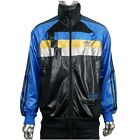 ADIDAS ORIGINALS CHILE 62 ZIPPER TRACKSUIT TOP JACKET BLACK BLUE GOLD MENS BNWT
