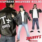MENS/BOYS GREASE T-BIRD 50S ROCK N ROLL SMIFFYS FANCY DRESS COSTUMES/JACKETS