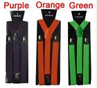 New Women Mens Adjustable Clip-on Unisex suspenders braces