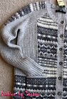 New With Tag Eddie Bauer Women's Cardigan Sweater Gray