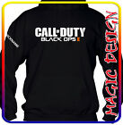 CALL OF DUTY BLACK OPS 2  VIDEO GAME CON IL TUO NICKNAME - FELPA UOMO UNISEX